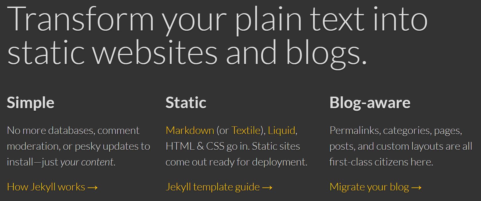 Jekyll-Website-Screenshot